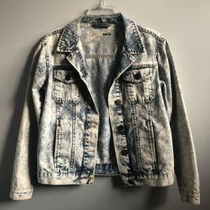 TopShop Jean Denim Jacket Size 2
